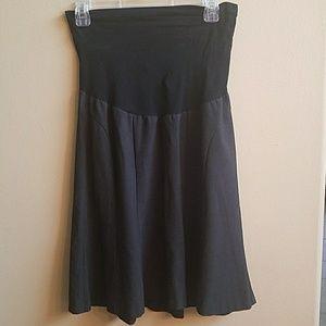 Gray Mimi maternity skirt size small